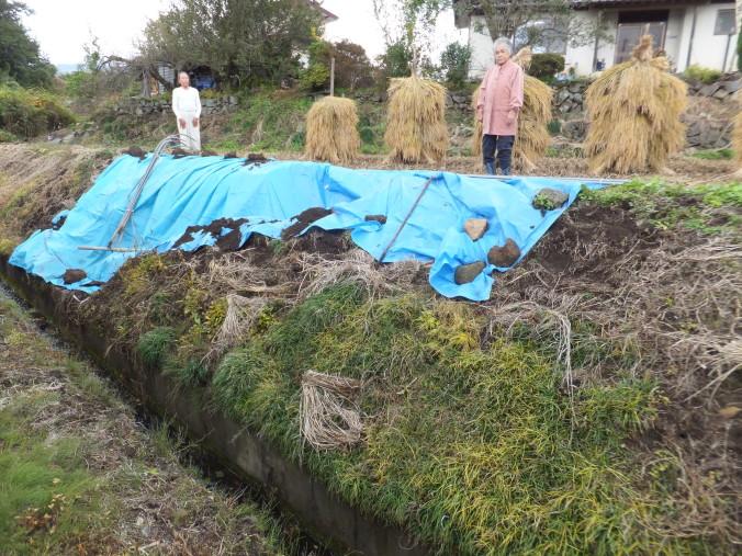 台風被害の復旧